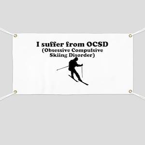 Obsessive Compulsive Skiing Disorder Banner