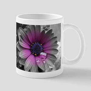 Wonderful Flower with Waterdrops Tasse