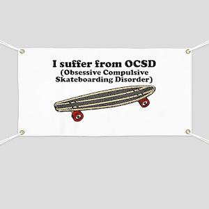 Obsessive Compulsive Skateboarding Disorder Banner