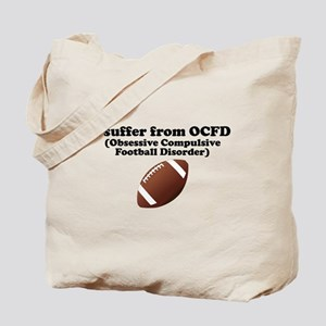 Obsessive Compulsive Football Disorder Tote Bag