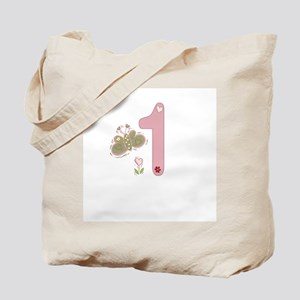 """""""Butterfly Birthday: 1"""" Tote Bag"""