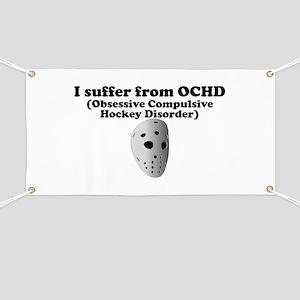Obsessive Compulsive Hockey Disorder Banner