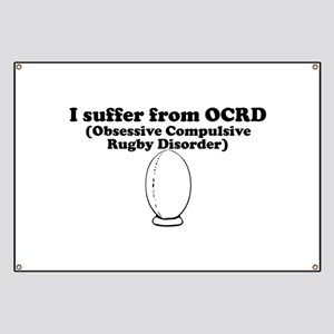 Obsessive Compulsive Rugby Disorder Banner