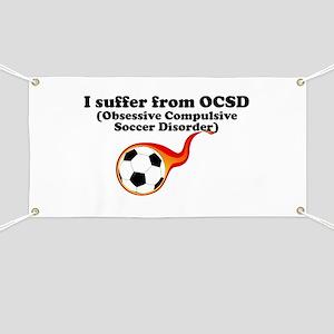 Obsessive Compulsive Soccer Disorder Banner