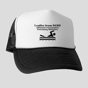 Obsessive Compulsive Swimming Disorder Trucker Hat