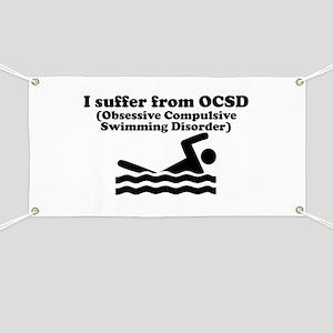 Obsessive Compulsive Swimming Disorder Banner