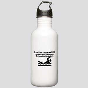 Obsessive Compulsive Swimming Disorder Water Bottl