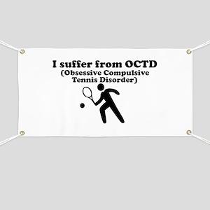Obsessive Compulsive Tennis Disorder Banner