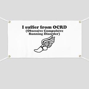 Obsessive Compulsive Running Disorder Banner
