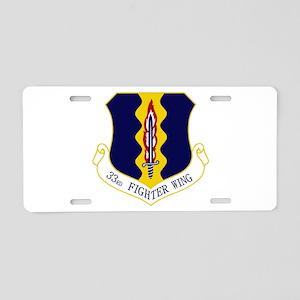 33rd FW Aluminum License Plate