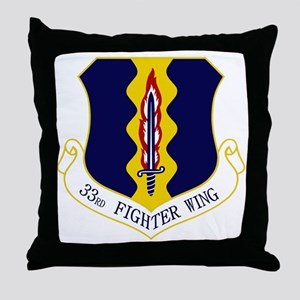 33rd FW Throw Pillow