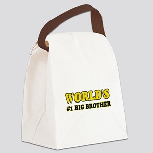 Unique gifts for Big Brother Canvas Lunch Bag