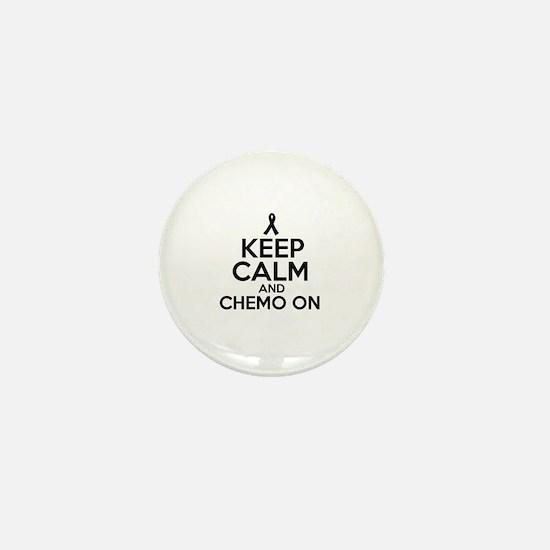 Cancer survival designs Mini Button