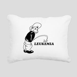 Cancer survival designs Rectangular Canvas Pillow