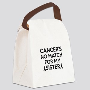 Cancer survival designs Canvas Lunch Bag
