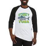 Ad-Free Stinky Tuna Baseball Jersey