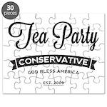 Tea Party Conservative Puzzle
