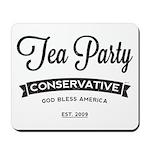 Tea Party Conservative Mousepad