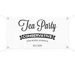 Tea Party Conservative Banner