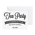 Tea Party Conservative Greeting Cards (Pk of 10)