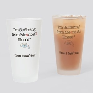 Meant all Drinking Glass