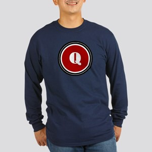 Red Long Sleeve Dark T-Shirt