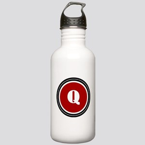 Red Stainless Water Bottle 1.0L