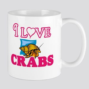 I Love Crabs Mugs