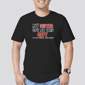 Cool Sister Designs Men's Fitted T-Shirt (dark)