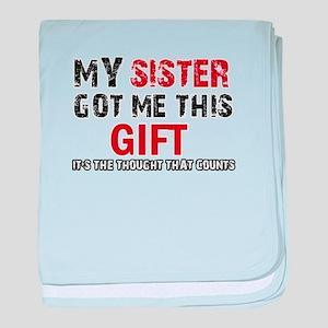 Cool Sister Designs baby blanket