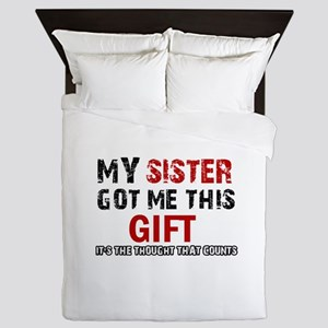 Cool Sister Designs Queen Duvet