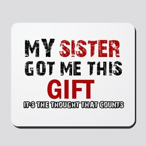 Cool Sister Designs Mousepad