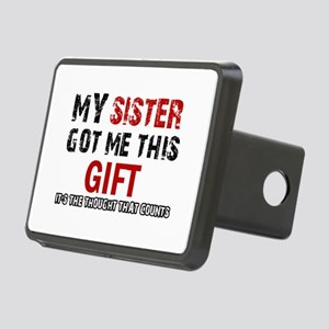 Cool Sister Designs Rectangular Hitch Cover