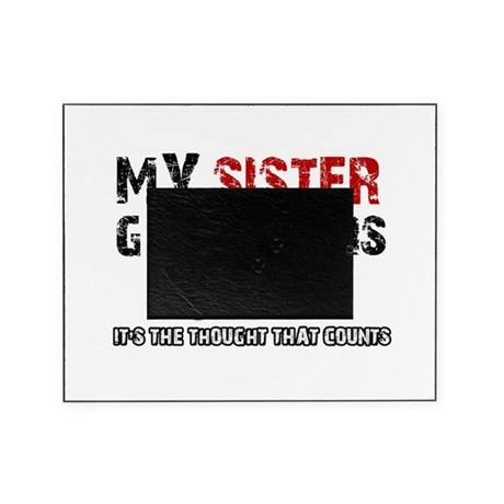Cool sister designs picture frame by buffalodesigns for Cool picture frame designs