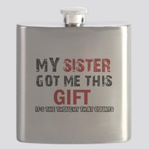 Cool Sister Designs Flask