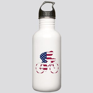 U.S.A. Cycling Stainless Water Bottle 1.0L