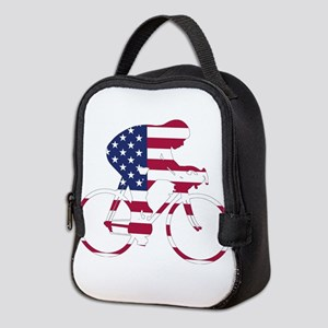 U.S.A. Cycling Neoprene Lunch Bag