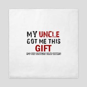 Cool Uncle Designs Queen Duvet