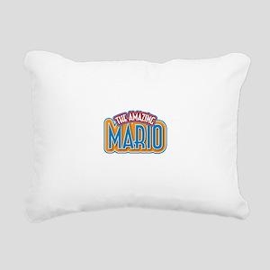 The Amazing Mario Rectangular Canvas Pillow