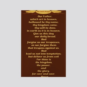 The Lords Prayer Wheat Rectangle Magnet (10 pack)
