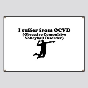 Obsessive Compulsive Volleyball Disorder Banner