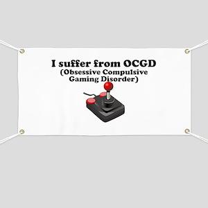 Obsessive Compulsive Gaming Disorder Banner