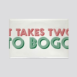 Funny BOGO shopping shirt Rectangle Magnet