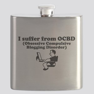 Obsessive Compulsive Blogging Disorder Flask