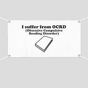 Obsessive Compulsive Reading Disorder Banner