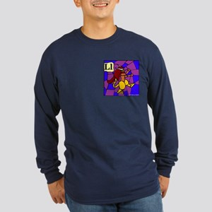 L is for Lympago Long Sleeve Dark T-Shirt