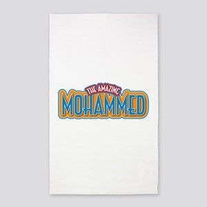The Amazing Mohammed 3'x5' Area Rug