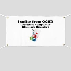 Obsessive Compulsive Blackjack Disorder Banner