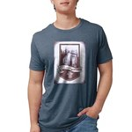 NW MOUNTAINEER vintage sketch Mens Tri-blend T-Shi