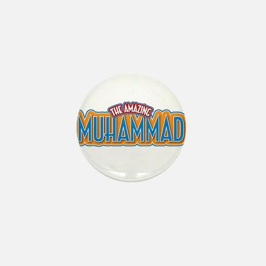 The Amazing Muhammad Mini Button